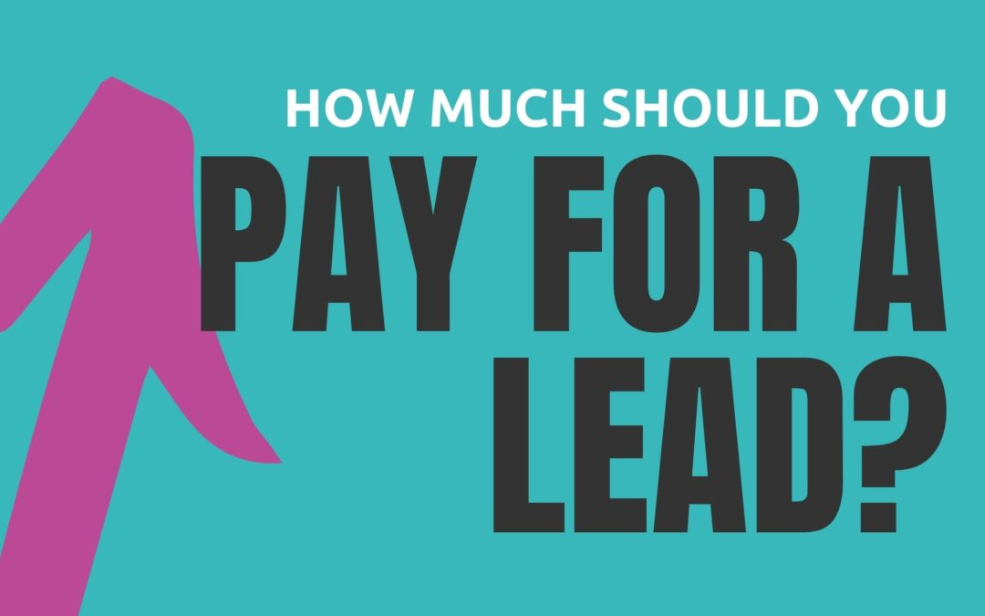 How Much Should You Pay For a Webinar Lead & How Much Should You Budget For Ads?